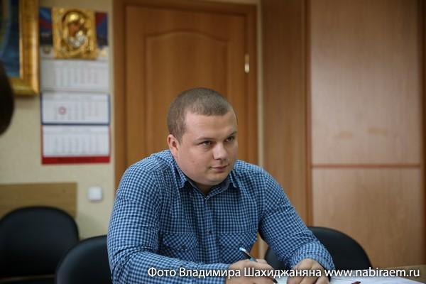 Игорь Олегович Ларченков, заместитель по финансовым вопросам Суворовское училище