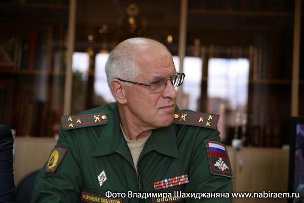 Владимир Собина, Суворовское училище, заместитель по учебной части