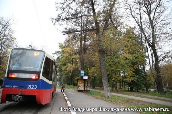 трамвай в Сокольниках