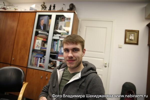 Программист Алексей Косякин