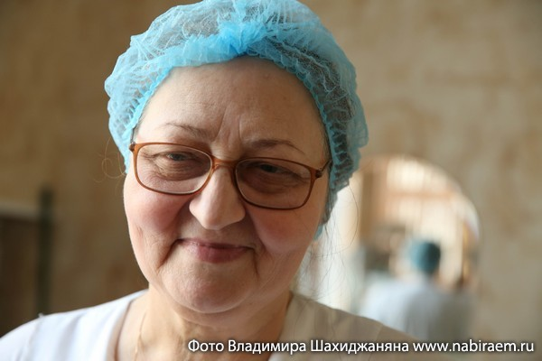 Медсестра Галина Строилина