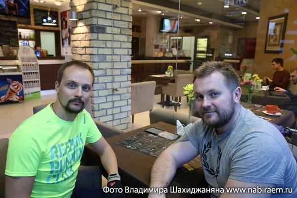 "Никулин и Королёв, клуб ""Новая лига"""