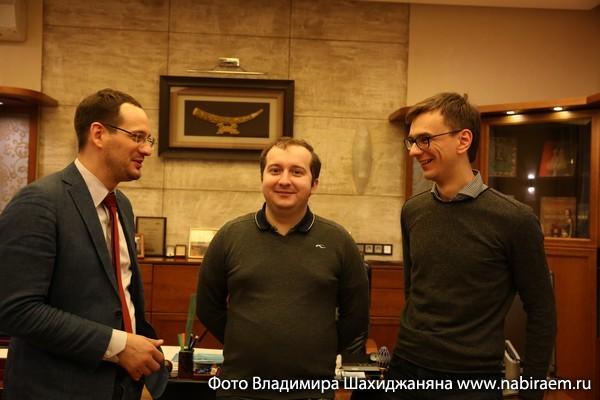 Наум Соловейчик, Максим Узун, Николай Елисеев