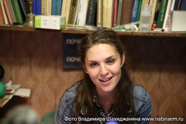 актриса Анна Ещенко