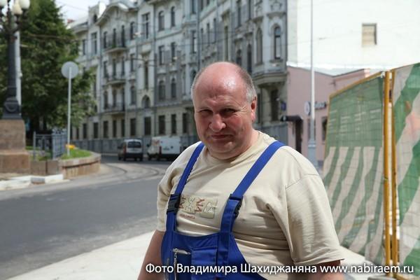 Строитель Андрей Захаров