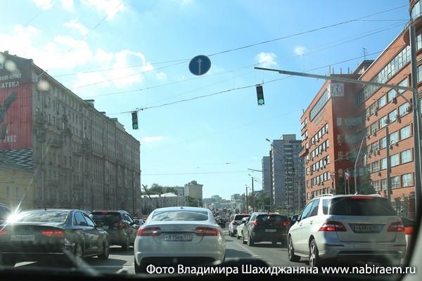 пробка на Садовом