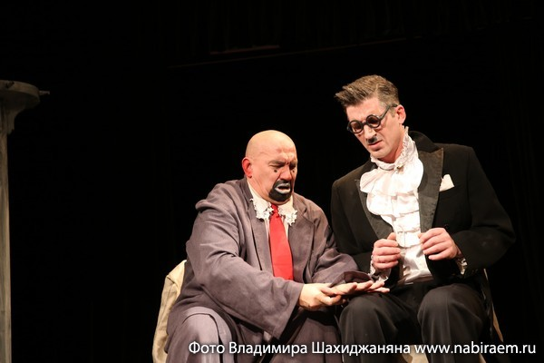 Театр Высокие братья, Гамаюнов и Давыдов
