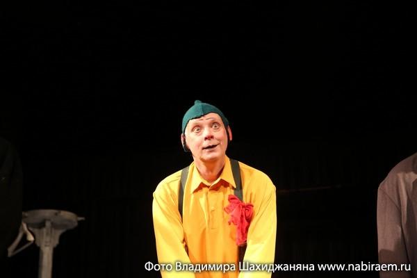 Театр Высокие братья, Сергей Иванов