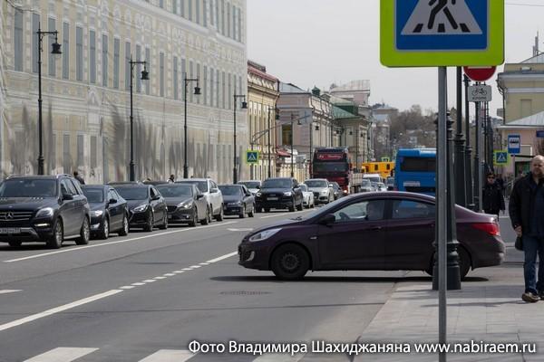 Москва автомобильная