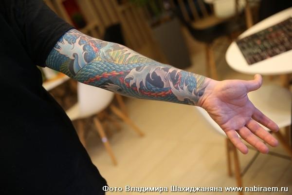 Татуировка, рукав