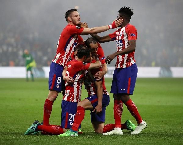 «Атлетико Мадрид» обыграл «Олимпик Марсель» со счётом 3:0 и увёз домой титул победителя Лиги Европы УЕФА (третий раз) в 2018 году. Фото: Maja Hitij/Getty Images.