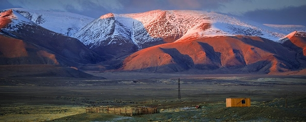 «Закат на Алтае». Автор фото: Марк Подрабинек