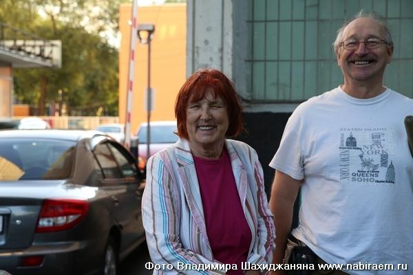 Галина Алексеевна Брусиловская, Николай Александрович
