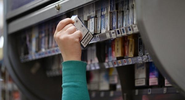 Продажу сигарет в супермаркетах могут запретить